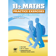 11+ Maths Practice Exercises Answer Book (BOK)