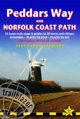 Peddars Way and Norfolk Coast Path: Trailblazer British Walk (BOK)