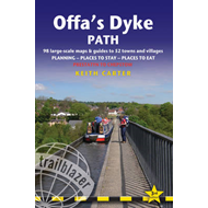 Offa's Dyke Path: Trailblazer British Walking Guide: Practical Route Guide to Walking the Whole Path (BOK)