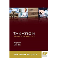 Taxation: Policy and Practice: 2013/14 (BOK)