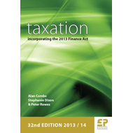 Taxation: Incorporating the 2012 Finance Act: 2013/14 (BOK)