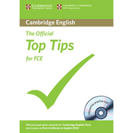 The Official Top Tips for FCE with CD-ROM (BOK)