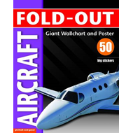 Fold-out Aircraft Sticker Book (BOK)