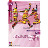 BrightRED Study Guide: N5 Administration & IT (BOK)