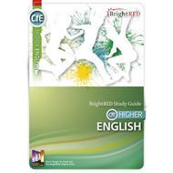 BrightRED Study Guide CFE Higher English (BOK)