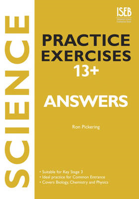 Science Practice Exercises 13+ Answer Book (BOK)