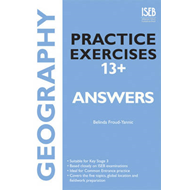 Geography Practice Exercises 13+ Answer Book (BOK)