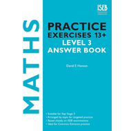 Maths Practice Exercises 13+ Level 3 Answer Book (BOK)