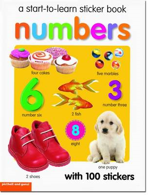 Start To Learn Numbers Sticker Book (BOK)