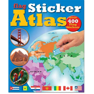 Flag Sticker Atlas (BOK)