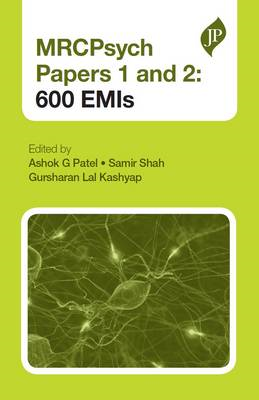 MRCPsych Papers 1 and 2: 600 EMIs (BOK)