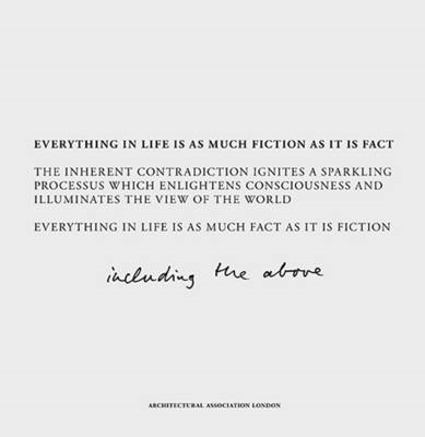 Fact and Fiction: Everything in Life is as Much Fiction as it is Fact (BOK)