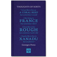Thoughts of Sorts: Introduced by Margaret Drabble (BOK)