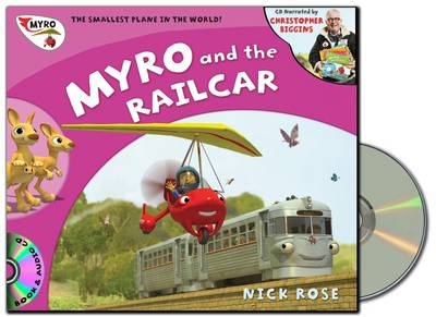 Myro and the Railcar: Myro, the Smallest Plane in the World (BOK)