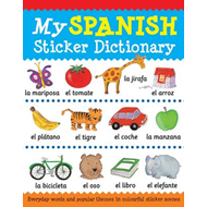 My Spanish Sticker Dictionary (BOK)
