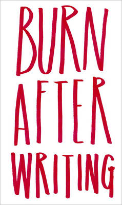 Burn After Writing (BOK)