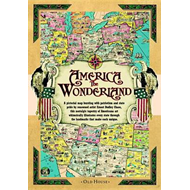 America the Wonderland map, 1941: A Pictorial Map of the United States (BOK)