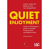 Quiet Enjoyment: Arden and Partington's Guide to Remedies for Harassment and Illegal Eviction (BOK)