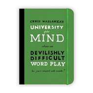 University of the Mind: Devilishly Difficult Word Play (BOK)