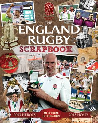 The Official England Rugby Scrapbook (BOK)