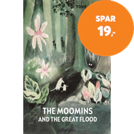 Produktbilde for The Moomins and the Great Flood (BOK)