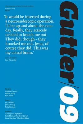 Gutter 09: The Magazine of New Scottish Writing: Summer 2013 (BOK)