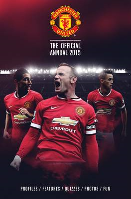 Official Manchester United FC 2015 Annual (BOK)