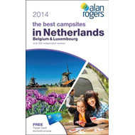 Alan Rogers - The Best Campsites in Netherlands, Belgium & Luxembourg 2014 (BOK)