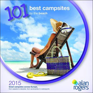 Alan Rogers - 101 Best Campsites by the Beach 2015 (BOK)