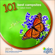 Alan Rogers - 101 Best Campsites for Nature Lovers 2015 (BOK)