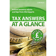 Tax Answers at a Glance: Instant Answers, Advice and Tips from the Experts: 2013/14 (BOK)