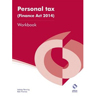 Personal Tax (Finance Act 2014) Workbook (BOK)