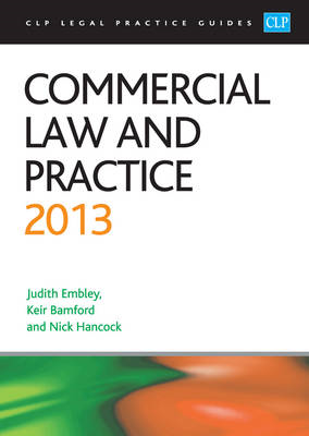 Commercial Law and Practice: 2013 (BOK)