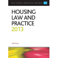 Housing Law and Practice: 2013 (BOK)