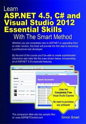 Learn ASP.NET 4.5, C# and Visual Studio 2012 Essential Skill (BOK)