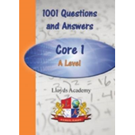 1001 Maths Questions & Answers: Core 1 A Level (BOK)