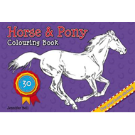 Horse and Pony Colouring Book (BOK)