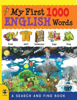 My First 1000 English Words (BOK)
