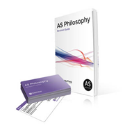 As Philosophy Revision Guide and Cards for AQA (BOK)