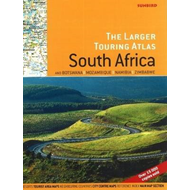 Larger Touring Atlas of South Africa & Botswana, Mozambique, Namibia & Zimbabwe (BOK)