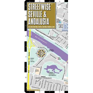 Streetwise Seville Map - Laminated City Center Street Map of (BOK)