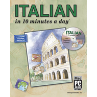 Italian in 10 Minutes a Day (BOK)
