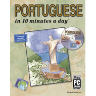Portuguese in 10 Minutes a Day (BOK)