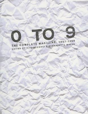 0 to 9: The Complete Magazine, 1967-1969 (BOK)