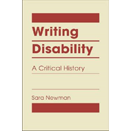 Writing Disability: A Critical History (BOK)