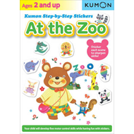 Produktbilde for Kumon Step-by-step Stickers: At The Zoo (BOK)