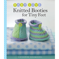 Knitted Booties for Tiny Feet (BOK)