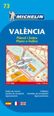Valencia - Michelin City Plan 73 (BOK)