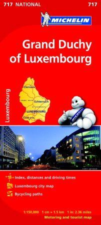 Grand Duchy of Luxembourg National Map 717 (BOK)