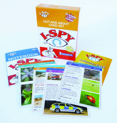I-Spy Out & About Cards Collection (BOK)